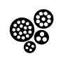 SKINTOP Уплотнительные вставки для нескольких кабелей / Защита от пыли